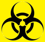 220px-Biohazard_symbol_(black_and_yellow)